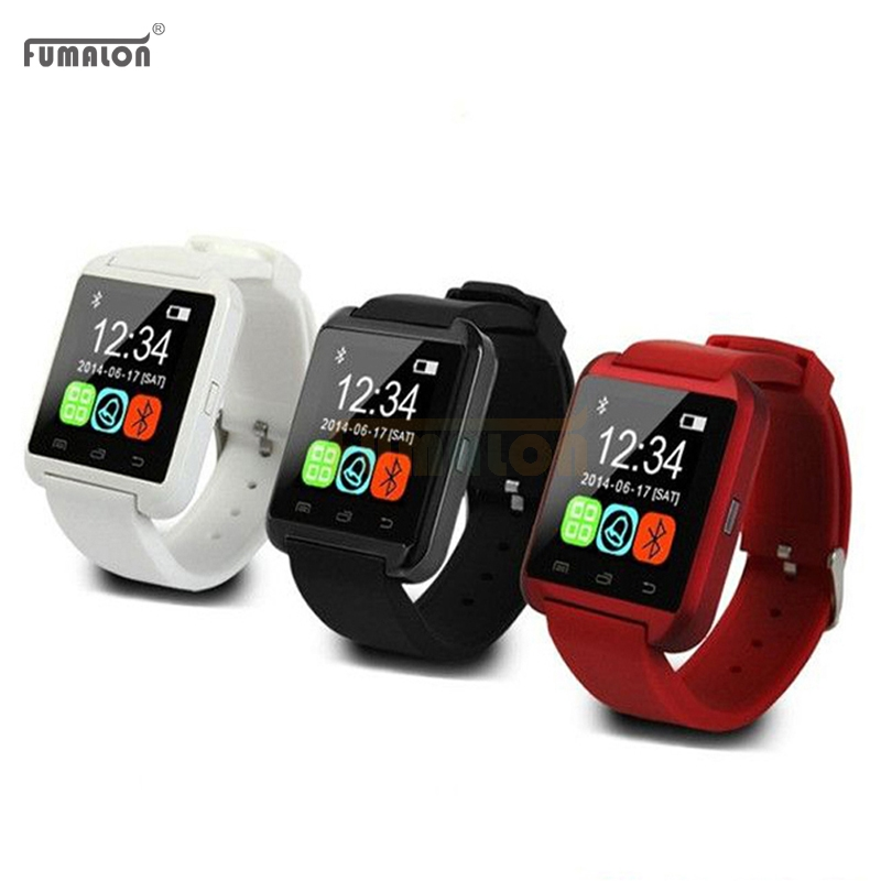 Smartwatch Bluetooth Smart Watch U8 WristWatch digital sport watches for IOS Android Samsung phone Wearable Electronic