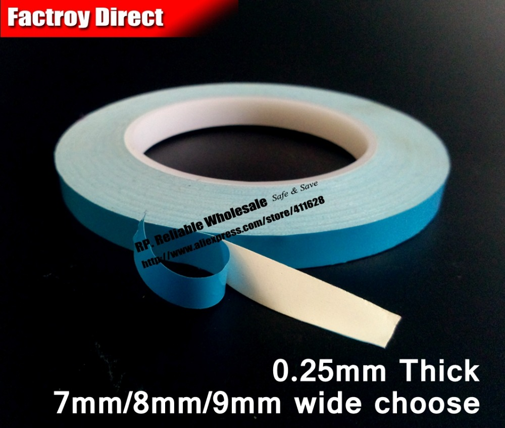 or 8mm/9mm *20m Two Sides Adhesive Thermal Conductive Tape Strip For Led Strip Panel Pcb Ic With Heat Sink Crazy Price Inventive 1x 7mm