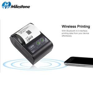 Milestone Printers MHT-P10 58mm Bluetooth Thermal Printer Portable Wireless for