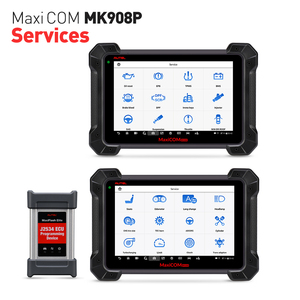 Image 2 - J2534 مبرمج PK Maxisys Elite Autel MaxiCOM MK908P MS908P أداة تشخيص السيارات OBD2 الماسح الضوئي ECU الترميز البرمجة
