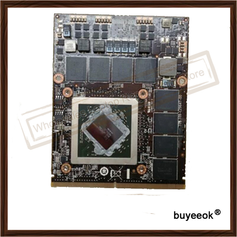 Original Genuine HD7970M DDR5 2GB Graphic Card For DELL 216 0836036 Display Video Card GPU Replacement