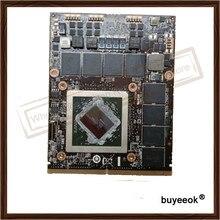 Ursprüngliche echte hd7970m gddr5 2 gb grafikkarte für dell 216-0836036 display grafikkarte gpu ersatz getestet arbeits