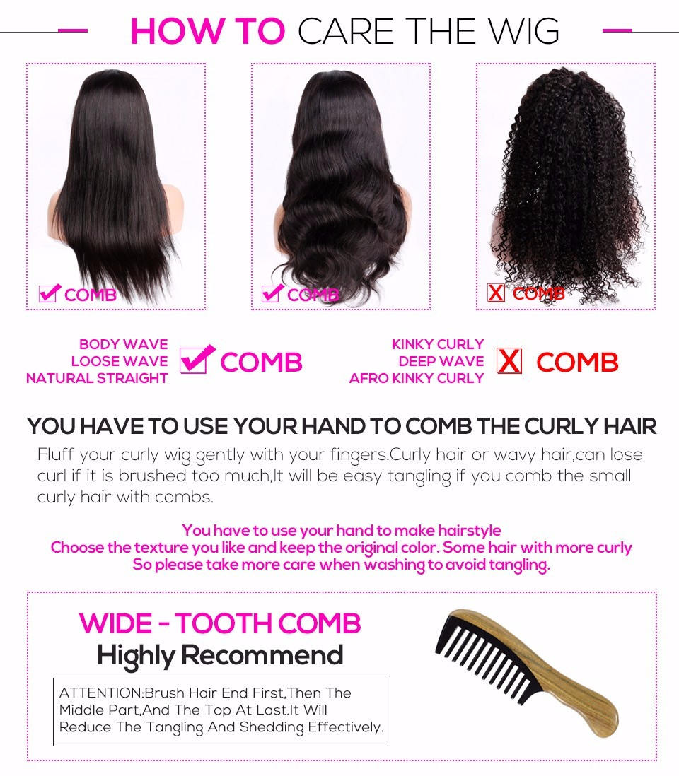 how to comb the hair
