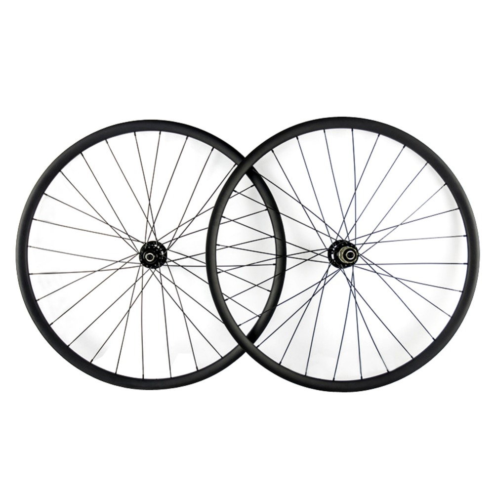 Full Carbon 25mm Depth 29er Mountain Bike Wheels MTB Wheels 27/30/35cm width Clincher Novatec D711/D712SB Hub MTB Bike Wheelset free shipping lutu xt wheelset mtb mountain bike 26 27 5 29er 32h disc brake 11 speed no carbon bicycle wheels super good