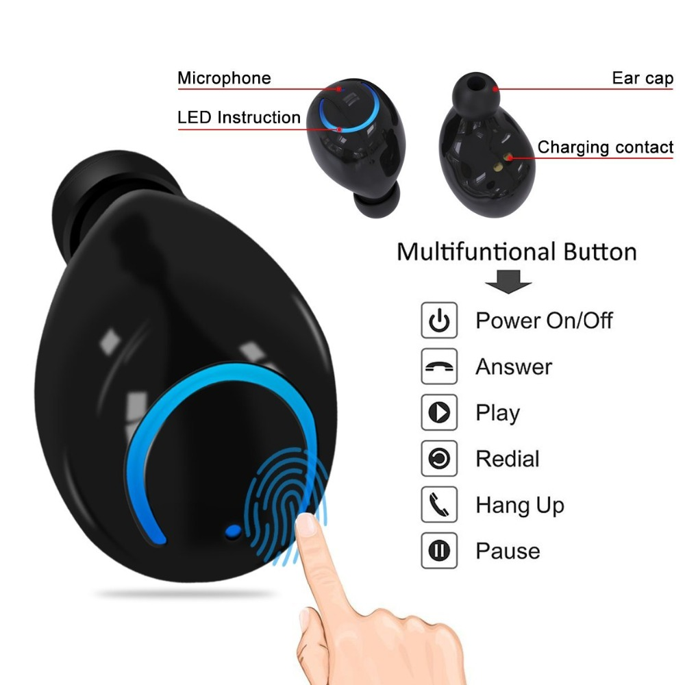 Lovely I7s Tws 5.0 Mini Wireless Bluetooth Earphone Earbud Headset For Lg X Power 2 3 Xpression Plus Music Mic Charging Box Pure White And Translucent Bluetooth Earphones & Headphones