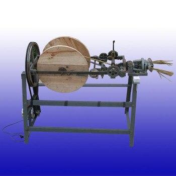 Лучшее качество соломы витой веревки делая машину сена и соломы веревки вязальная машина
