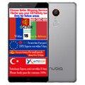 Original zte nubia z11 max snapdragon 652 octa core cpu 4 gb RAM 64 GB ROM 6.0 pulgadas teléfono 4G LTE Móvil Huella Digital de 16.0MP