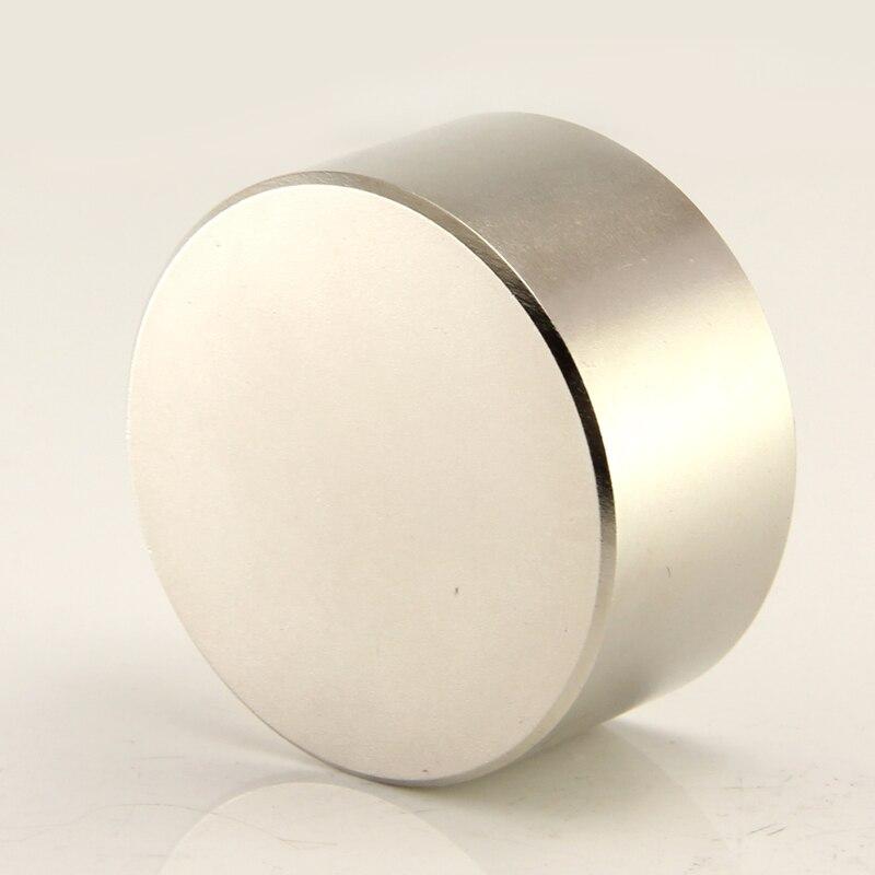 2 pz super potente Dia 40mm x 20mm magnete magnete al neodimio 40x20 disco posteriore terra NdFeB REALE magneti N52
