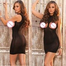 Hot Sale  Breast Open Women Erotic Porn Sexy Lingerie Nightwear Costumes
