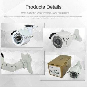 Image 4 - Keeper HD 2MP AHD מצלמה בחדות גבוהה מעקב אינפרא אדום 1080P אבטחת CCTV חיצוני Bullet עמיד למים מצלמות