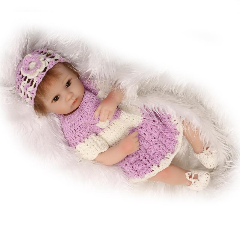 ФОТО 42cm Bebe Reborn Baby Dolls Kids Toys Newborn Babies Doll Girl Boy Birthday Gifts Photography Props Early Education Supplies