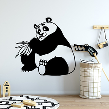 лучшая цена Colorful panda Waterproof Wall Stickers Home Decor For Kids Rooms Home Decor Decorative Vinyl Wall Stickers