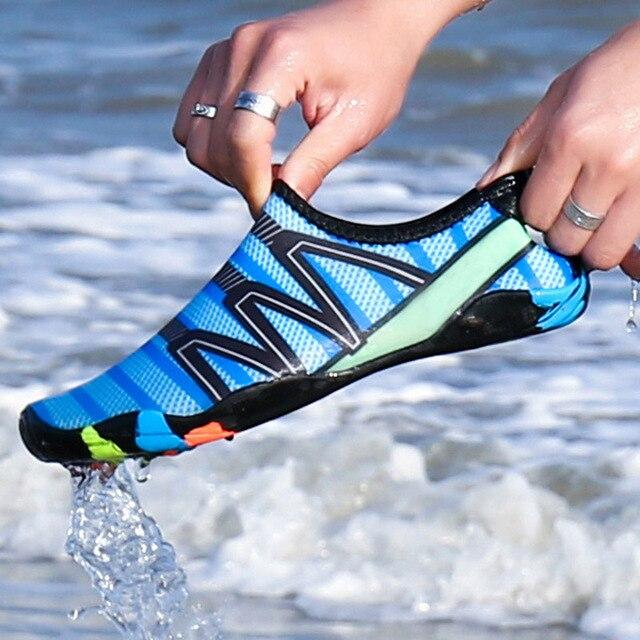 8e82aa81b2a2 Zapatillas Unisex zapatos de natación deportes acuáticos playa surf  zapatillas aguas arriba luz calzado XR caliente
