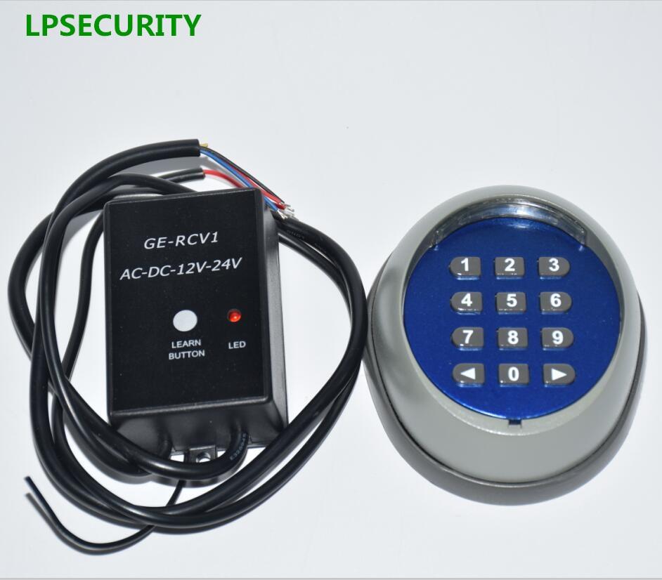Lpsecurity 433mhz Wireless Keypad For Garage Swing Sliding
