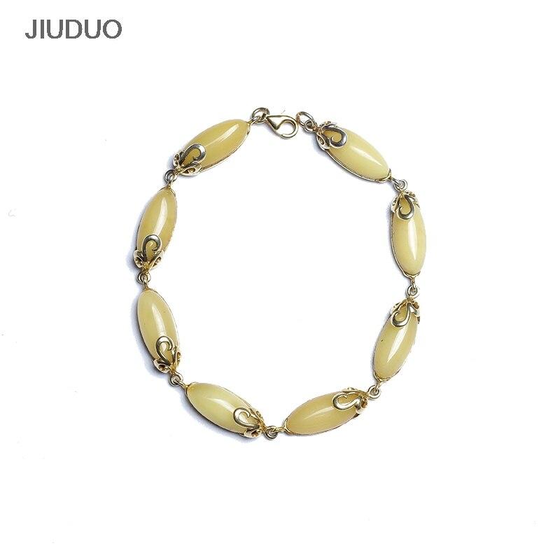 JIUDUO զարդեր 925 ստերլինգ արծաթագույն - Նուրբ զարդեր - Լուսանկար 1