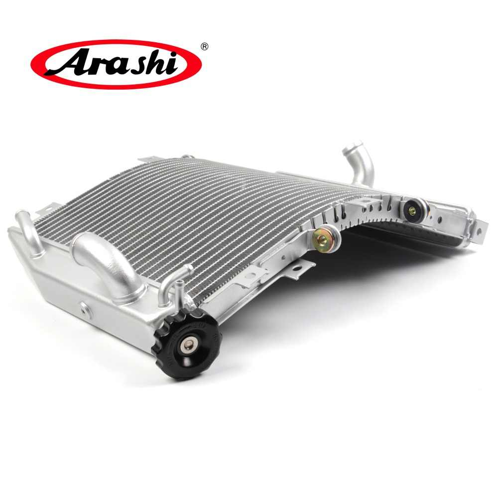 Arashi Radiator Cooling Cooler for KAWASAKI NINJA ZX10R 2004 2005 Motorcycle Replacement Accessories ZX-10R ZX 10R Silver 1 Pcs 04 05