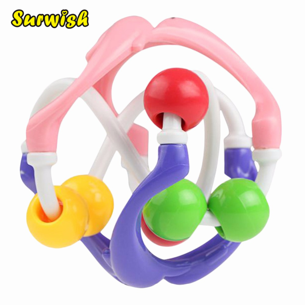 1 pc Dolphin Baby Bendy Ball Toys Children Early Development Educational kids Toy