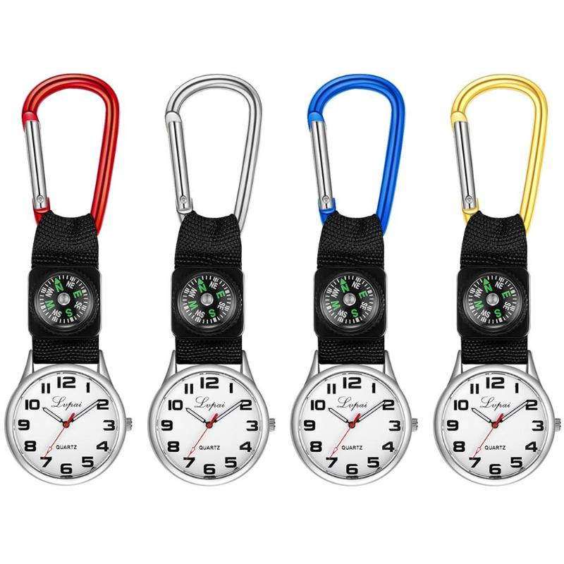 Hot Sale Nurse Watches Clip-on Fob Brooch Pendant Hanging Watch Pocket Watch Medical Sports Women Men Analog Wristwatch(China)