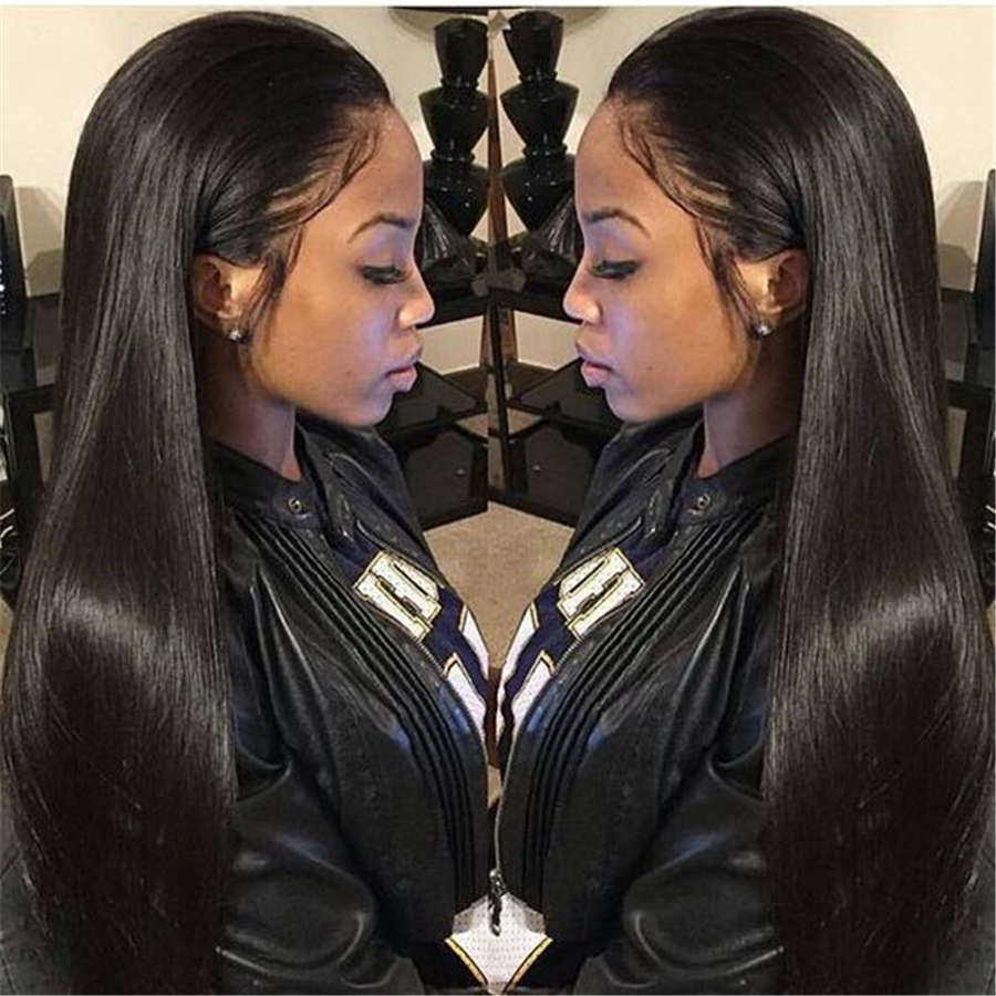 Straight hair perm products - 8a Brazilian Virgin Hair Straight 4 Pcs Unprocessed Straight Human Hair Bundles Meches Bresilienne Lots Ali
