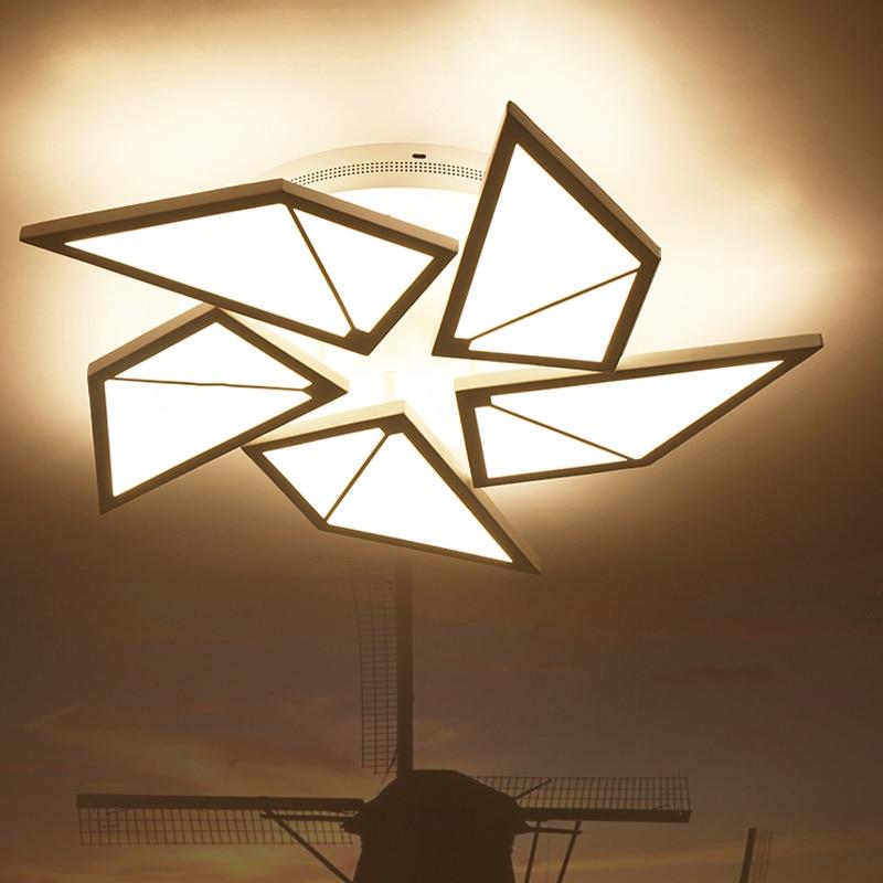 US $88.35 41% OFF Sonne Decke Lampe für wohnzimmer Schlafzimmer Küche  windmühle lampe Schatten Indoor decken Decor luminaria de teto Kinder decke  ...