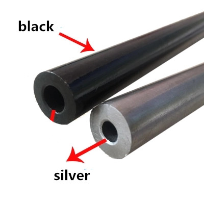 500mm length 45# seamless steel pipe precision tube 12mm outside diameter 4.5-9.0mm inside  White black steel casing pipe