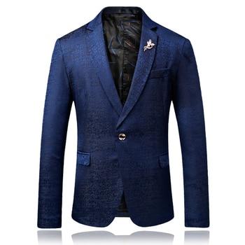 Korean Slim Leisure Jacket Thin Single Coats Men's business attire