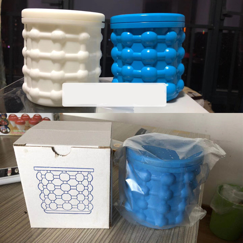 New Ice Cube Maker Genie The Revolutionary Space Saving Ice Cube Maker Ice Genie Kitchen ...