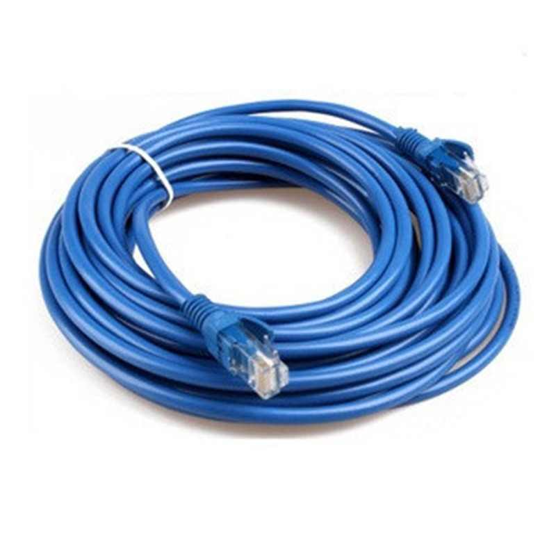 1m/2m/3M/5m/40m CAT5 100M RJ45 Ethernet Cables 8Pin Connector Ethernet Internet Network Cable Cord Wire Line Blue Rj 45 Lan CAT6