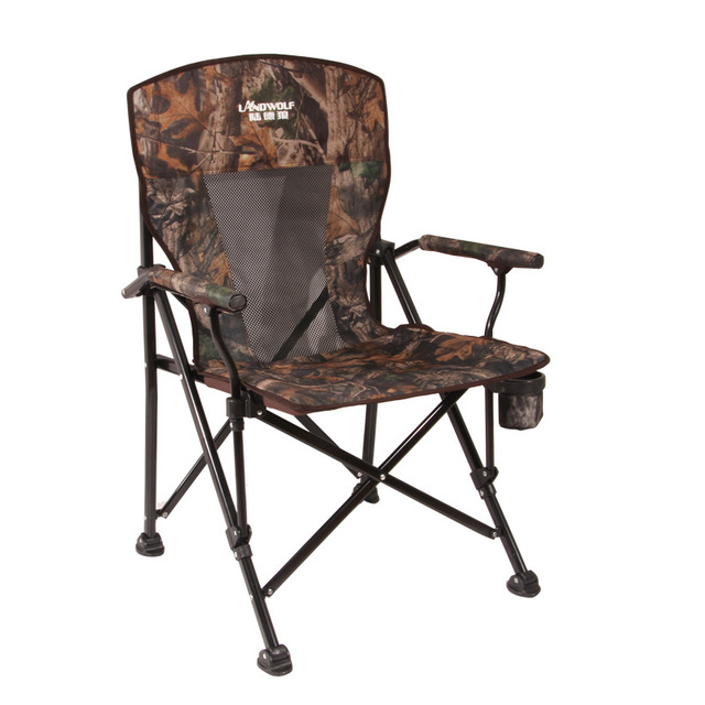 Load-bearing 300 kg Outdoor folding lounge chair Wild camping Fishing/stool Beach chair easy carry for camping 1