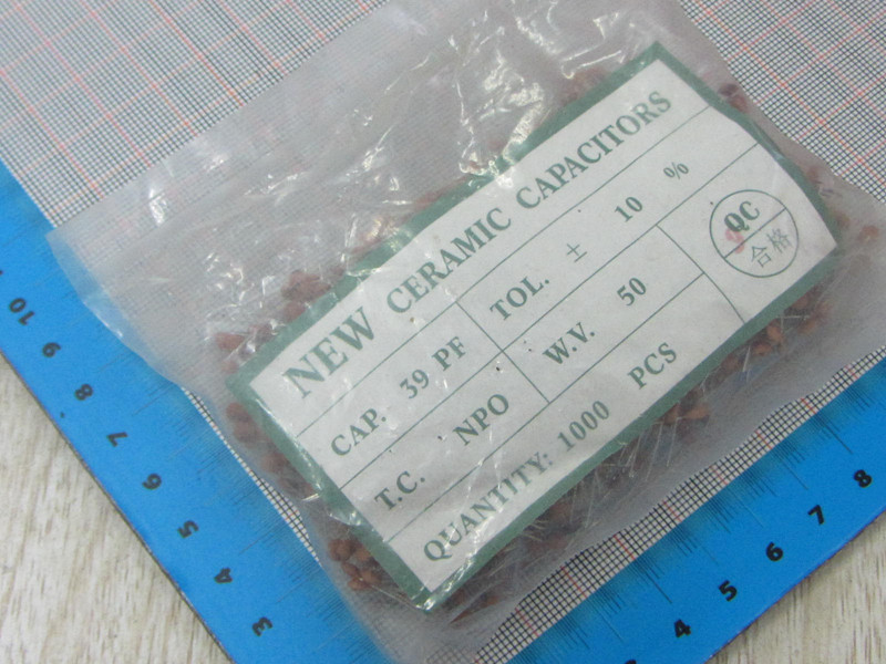 1000pcs/lot High Quality 39PF 39P 50V Ceramic dielectric Capacitor 39PF 39P 50V dip ceramic capacitors 39PF