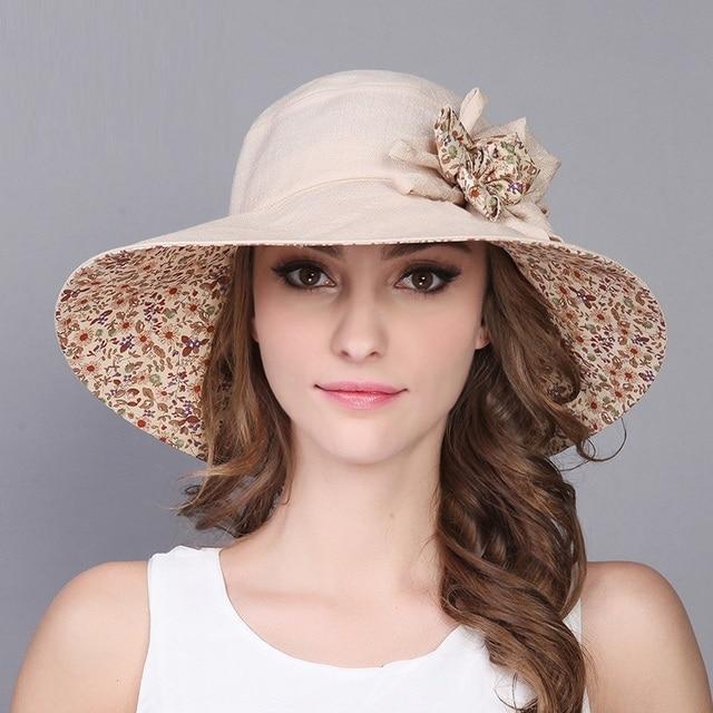New Arrival Lady Sun Hat Summer Women Wide Brim Sun Travel Sun Hat Girls Sun  Protection b2e4c04544