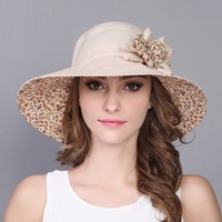 New Arrival Lady Sun Hat Summer Women Wide Brim Sun Travel Sun Hat Girls Sun Protection Outside Travel Cap Sunscreen Cap B 7562