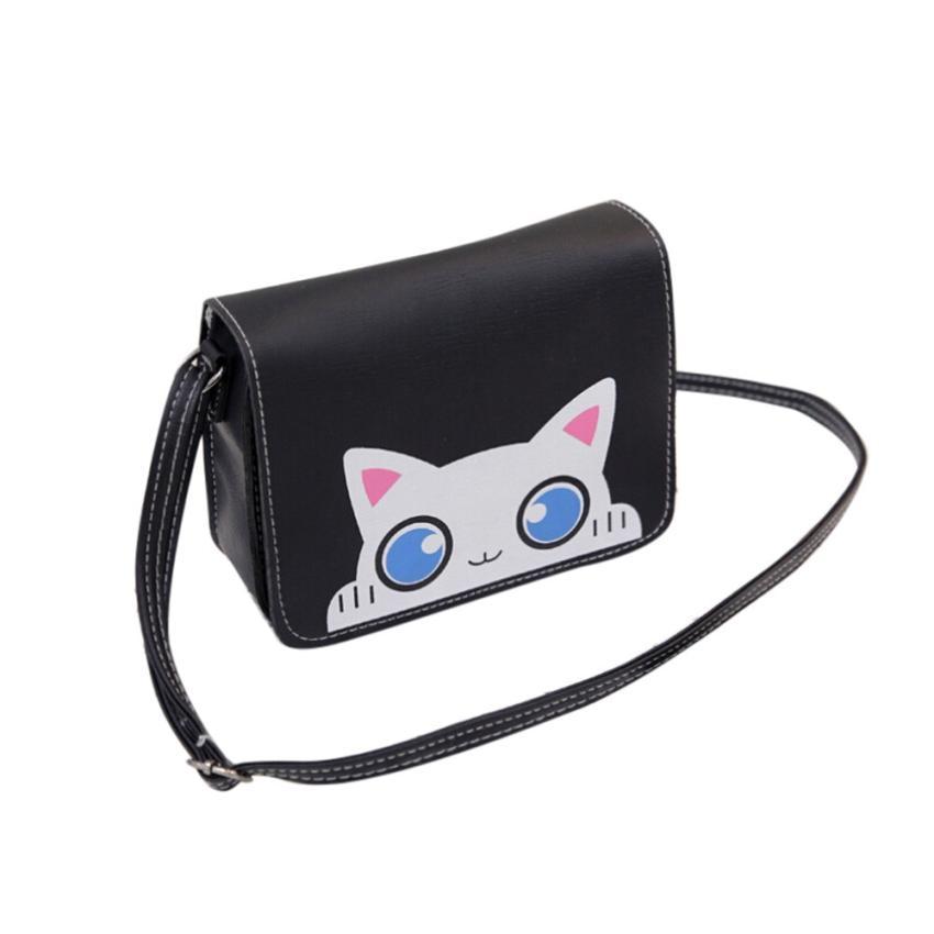 100% QualitäT Vintage Katze Muster Shell Schulter Taschen Frauen Schöne Kleine Handtaschen Tote Umhängetasche Dropshipping Großhandel # T