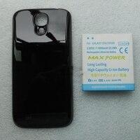 Jinsuli 6000มิลลิแอมป์ชั่วโมงสี่สีขยายหนากับปกหลังสำหรับSamsung Galaxy S4 SIV i9500จัดส่งฟรีขายส่