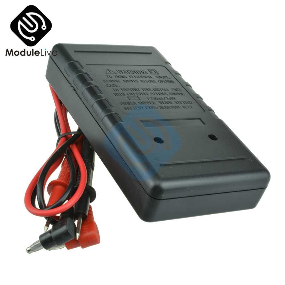 DT830B profesjonalny miernik cyfrowy multimetr prądu lcd miernik testowy AC DC 750/1000V woltomierz amperomierz Ohm elektryczny tester wielofunkcyjny DT-830B