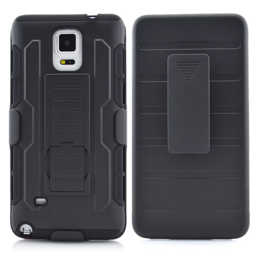 Future Armor Impact Belt Clip Holster Hard Case For Samsung Galaxy Note 4 / S7 Back Cover Phone Cases + Free Screen protect