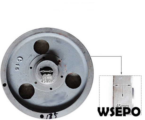 OEM Quality! Flywheel Comp for R175 5HP 4 Stroke Small Water Cooled Diesel Engine oem quality flywheel generator for 170f 173f l48 4hp 5hp 4 stroke single cylinder air cooled diesel engine
