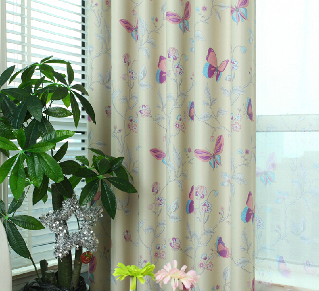 Popular Butterfly Curtains-Buy Cheap Butterfly Curtains lots from ...