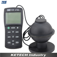 Light Meter Luminous Flux Meter TES 133