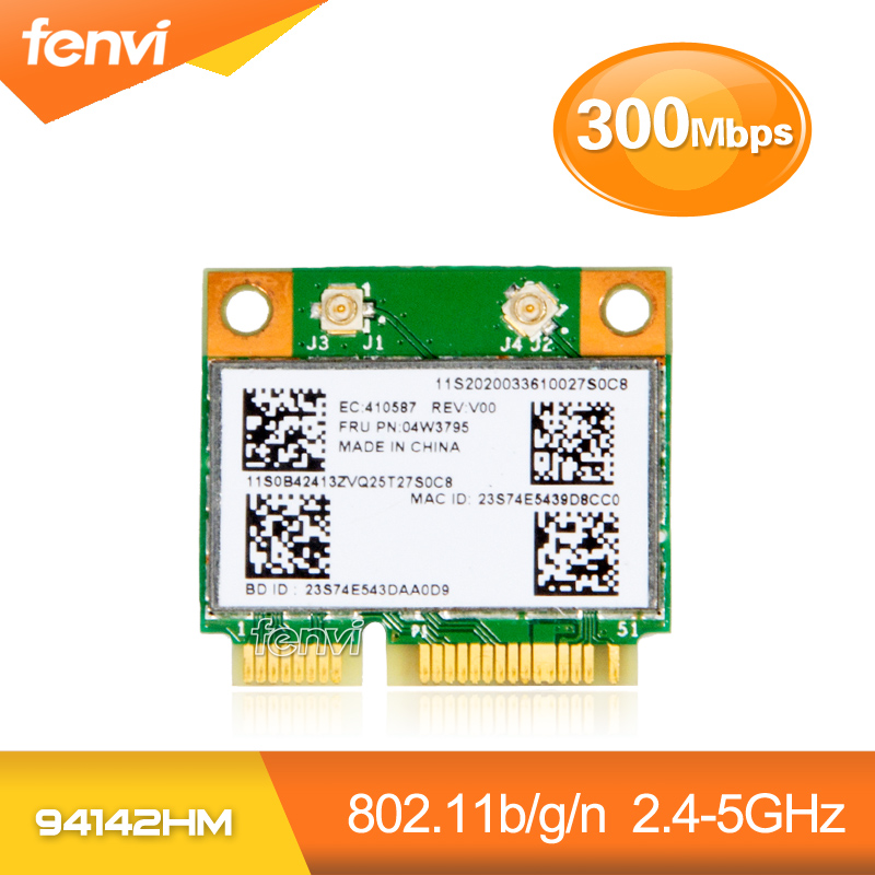 Dual band 300Mbps BCM943142HM Broadcom BCM943142 Wireless