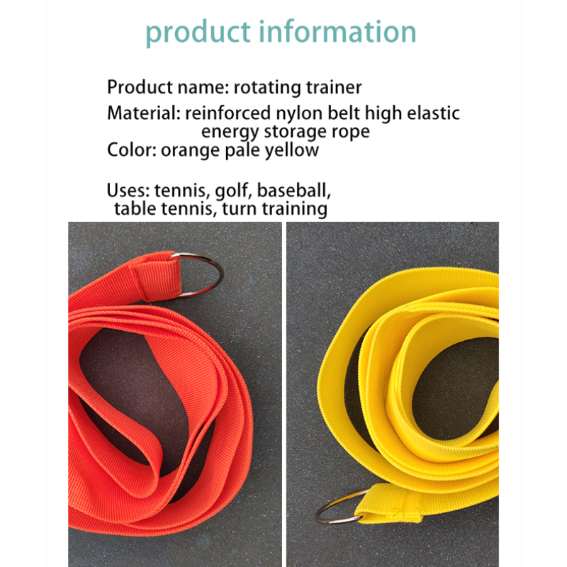 Portable Tennis Training Tool Base Self-study Trainer Tool Elastic Rope Professional Tennis Swivel Belt Tennis Accessories