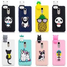 3D Stress Relief Silicon Phone Case For Xiaomi Redmi Note 4X Cute Soft  Unicorn panda bear 062eaeb51582