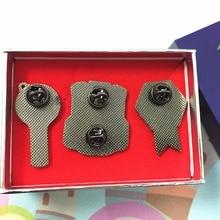 Premium BTS Pin Badges Set