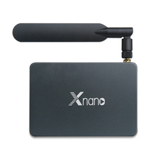 Super Android Smart TV Box Supports SATA 3.0, DVR, Dolby Digital, DTS DDR4 2GB Ram 16GB Xnano X5 Dual Wifi RTD1295 Set Top Box
