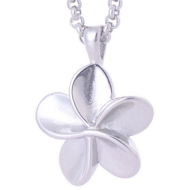 Exquisite 316l stainless steel silver plated flower pendants pets exquisite 316l stainless steel silver plated flower pendants pets cremation ash urn pendant necklaces memorial jewelry mozeypictures Choice Image