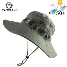 bf5b9a1899b7b UPF 50+ Bucket Hat Summer Men Women Boonie Hat Outdoor UV Protection Wide  Brim Military Army Hiking Fishing Tactical Sun Hat Cap