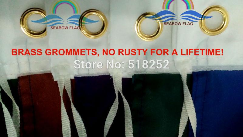 La Salle University Explorers Gold Flag 3x5 FT 150X90CM NCAA Banner 100D Polyester Custom flag grommets 6038,free shipping