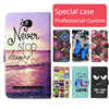 Fashion cartoon printed flip wallet leather case for ZTE Majesty Pro LTE with Card Slot phone bag book case,free gift
