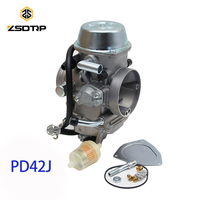 Free shipping ZSDTRP PD42J 42mm Vacuum Carburetor case for Yamaha honda and other 400cc to 700cc racing motor