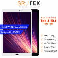 SM T580 LCD para Samsung Galaxy Tab A 10,1 SM-T580 pantalla SM-T585 LCD matriz pantalla táctil T585 digitalizador Asamblea reemplazo